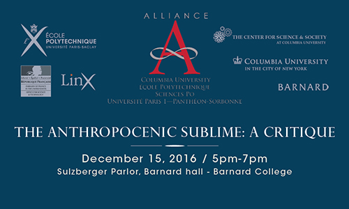 Anthropocene poster