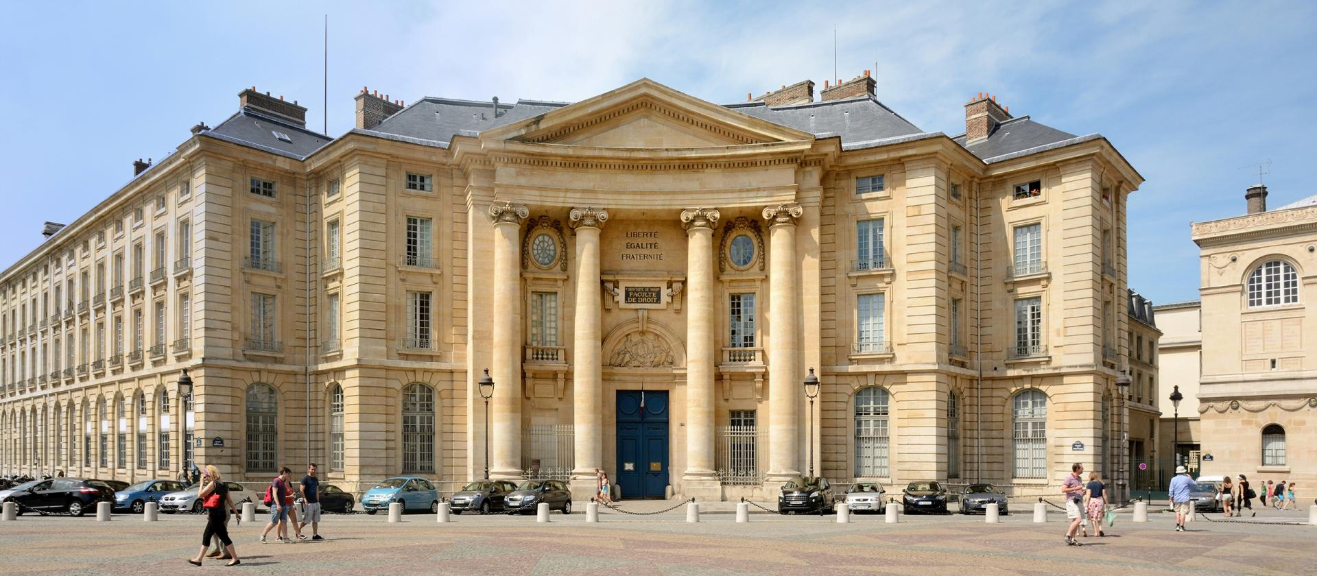 Panthéon-Sorbonne University in France